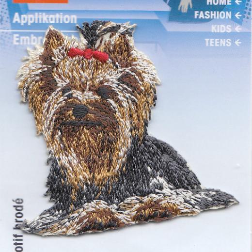 Applique Yorkshire Terrier