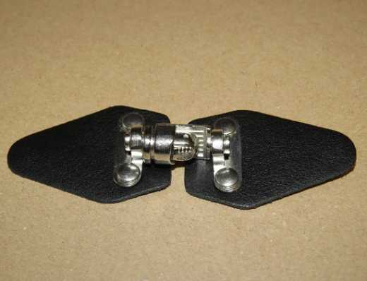 Leather Clasp black