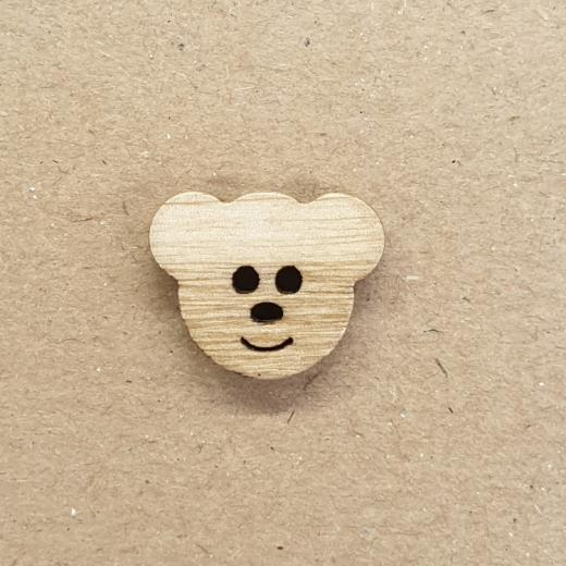 Knopf Holz - 18 mm