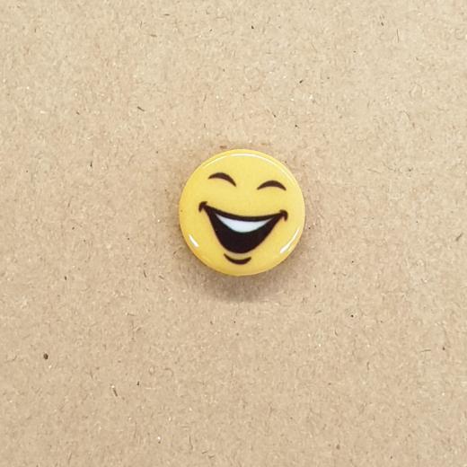 Knopf Kunststoff - Smiley 1