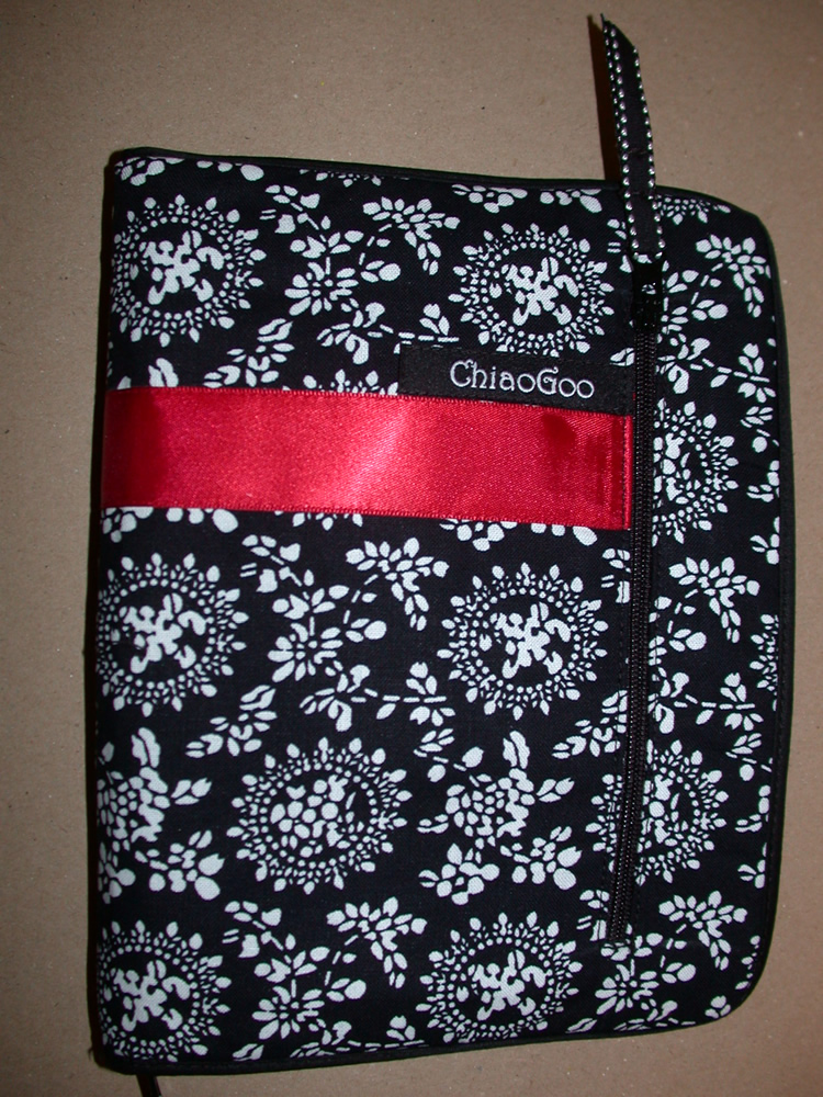 """Red Lace SET Interchangeable Knit Needle ChiaoGoo TWIST 5/"""" COMPLETE US2 - US15"""