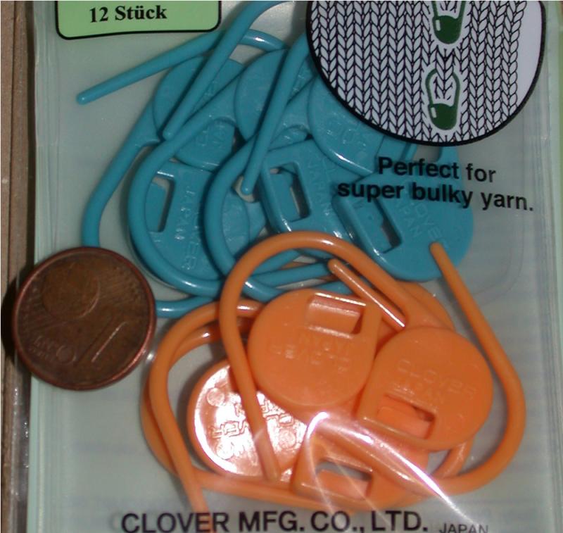 Clover Maschen-Markierer verschließbar - groß