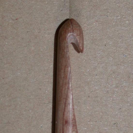 Surina Doppel-Häkelnadel 25 cm - 7,0