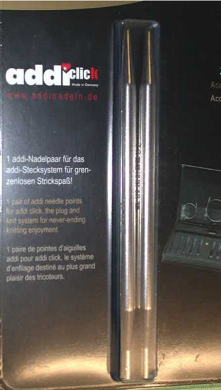 Addi Click Spitzen Basic - 3,5