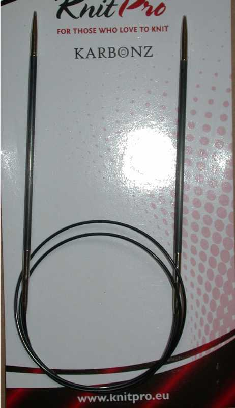 Knit Pro Rundstricknadel Karbonz 3,5 - 60 cm