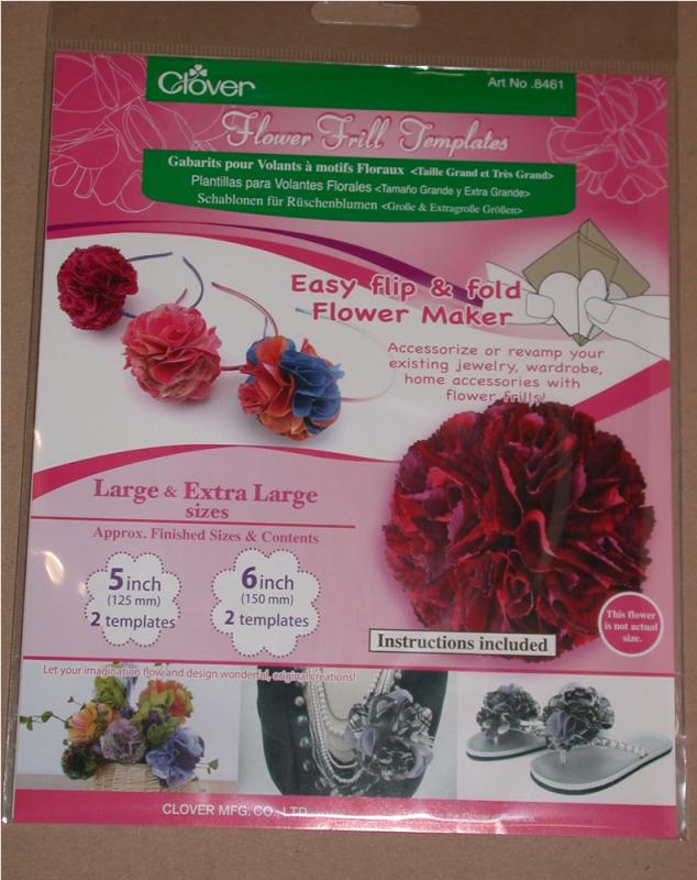 Clover Rüschenblumen Set - groß