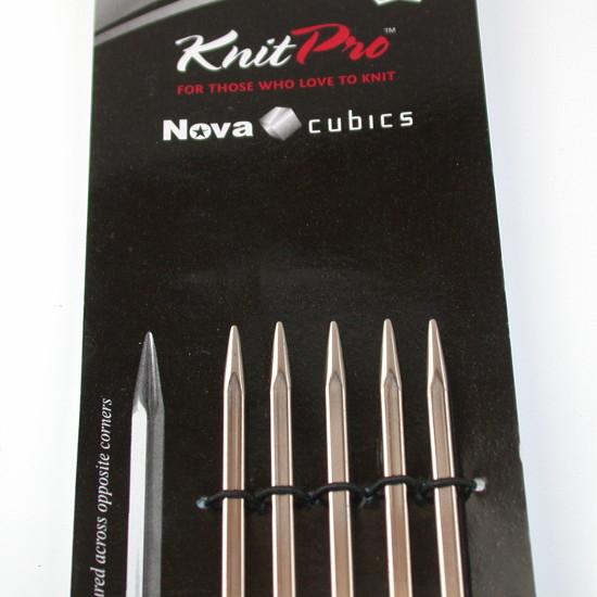 Knit Pro Nadelspiel Nova Cubics 15 cm - 2,75