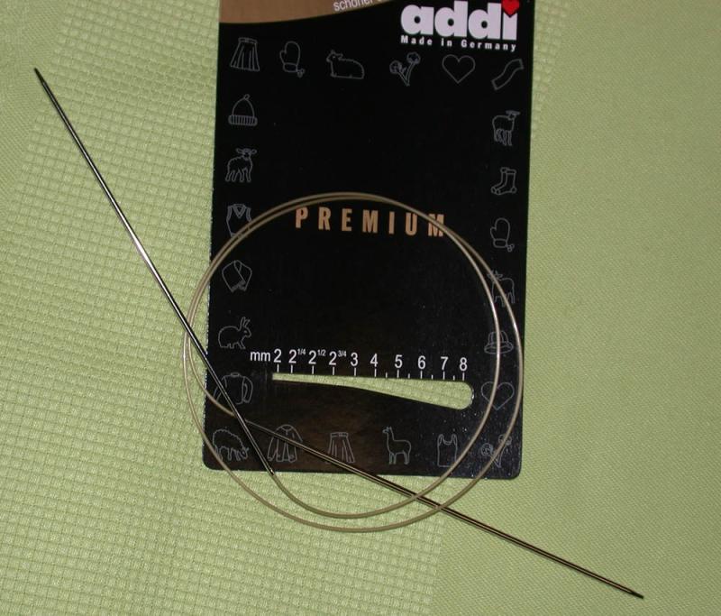 addi Rundstricknadel Premium 8,0 - 50 cm