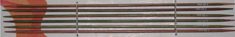 Knit Pro Nadelspiele Symfonieholz 15 cm - 2,75