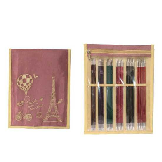 Knit Pro Nadelspiele Royalé Set - 20 cm