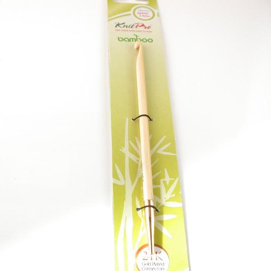 Knit Pro Auswechselbare Häkelnadeln Bambus - 5,0