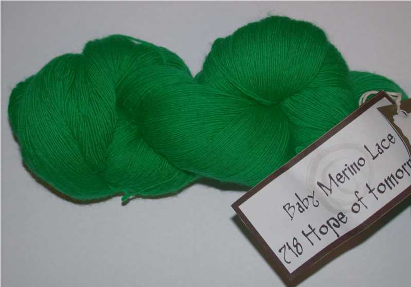 Baby Merino Lace - Hope of tomorrow 718