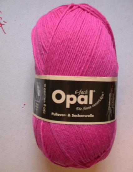 Opal Uni 8-fach - Pink 6806