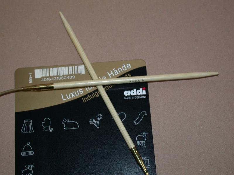 Addi Rundstricknadel Bambus - 4,0