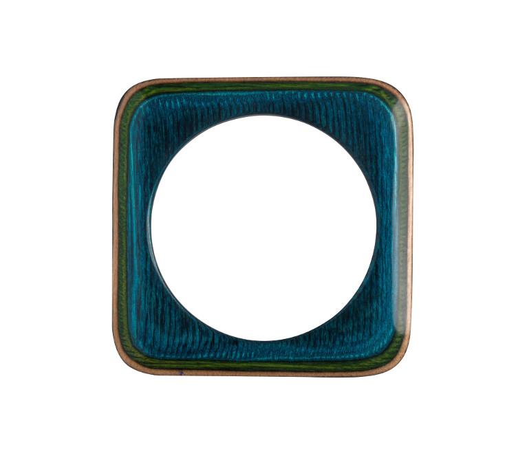 Teekri Armreif GROOVE Quadrat - L