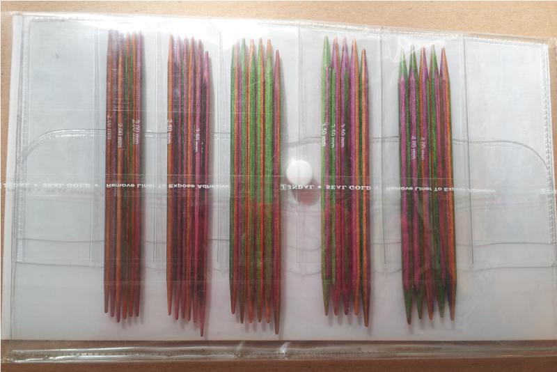 Knit Pro Nadelspiele Set Symfonieholz 10 cm