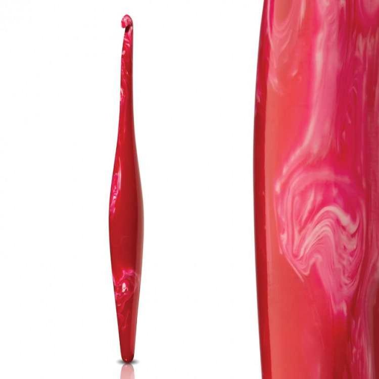 Furls Häkelnadel Streamline Swirl Cherry 5,0