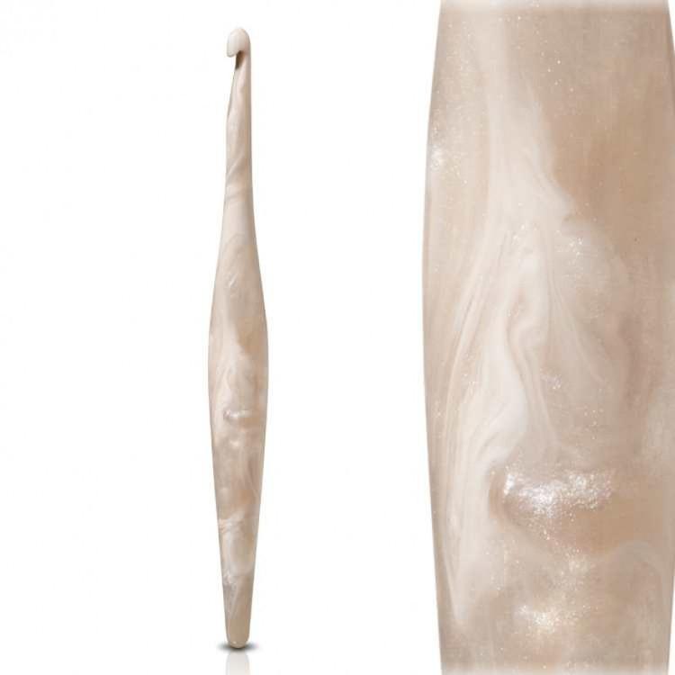 Furls Häkelnadel Streamline Swirl Cream - 6,0