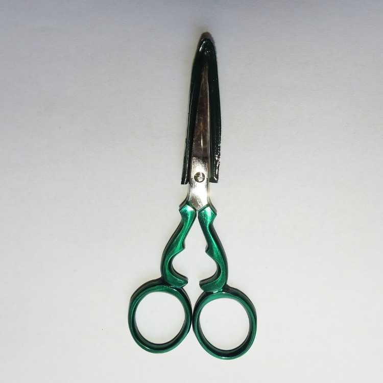 Kleiber Stickschere - metallic-grün