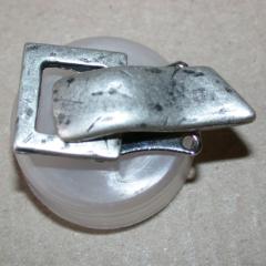 Verschluss - Metallclip rustikal