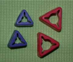 Clover Needle Holders - triangle