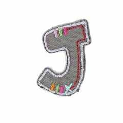 Applique Letter J
