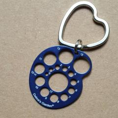 Nadelmaß (size) - 0 bis 17 blau