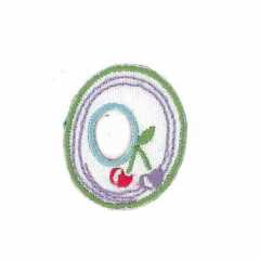 Applique Letter O