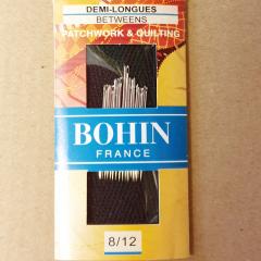 Bohin Quiltnadeln halblang - Gr. 8-12