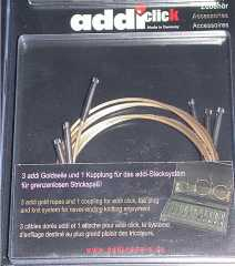 Addi Click Goldseile - Set Basic