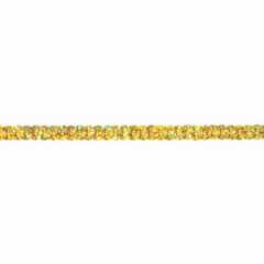Sequin Trim Iridescent - gold