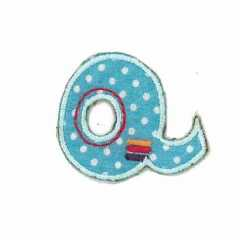 Applique Letter Q