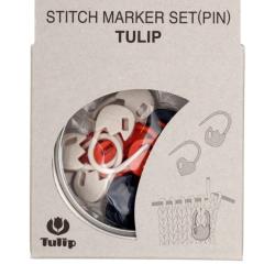 Tulip Maschen-Markierer verschließbar - Set Tulpe