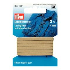 Lederband-Imitat - 4 mm