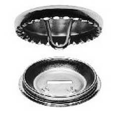 Beziehbare Knöpfe Metall 11 mm