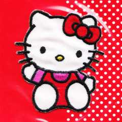 Applikation - Hello Kitty - sitzend