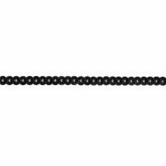 Sequin Trim 90 mm - black