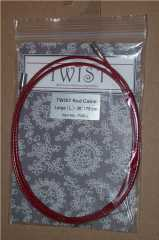 ChiaoGoo Twist Cable red - S 75 cm