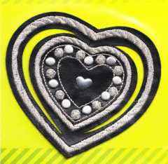 Applique Heart with Nailheads