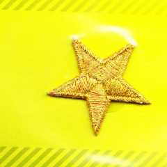 Applique Star - gold