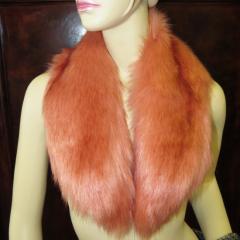 LOVA fur - Kunstfellkragen - Fox apricot