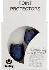 Tulip Point Protectors Large - dark blue
