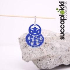 Succaplokki Keychain Needle Gauge Olga - blue