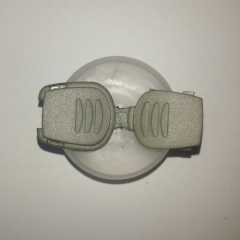 Cord End Stopper 20 mm grey