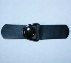 Duffle Coat Toggle black - 100 mm