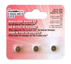 Batterien für Crochet Lite