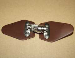 Leather Clasp brown