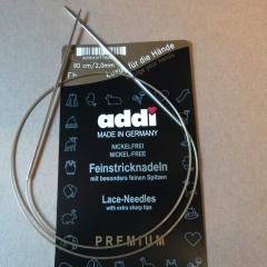 addi Circular Lace 2,0 (US 0) - 80 cm