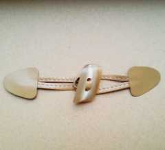 Duffle Coat Toggle beige - 170 mm