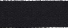 Cotton Webbing Strap 25 mm - dark blue